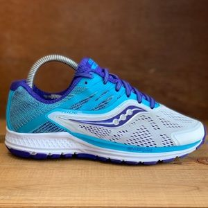Saucony Womens Ride 10 Size 7 Wide